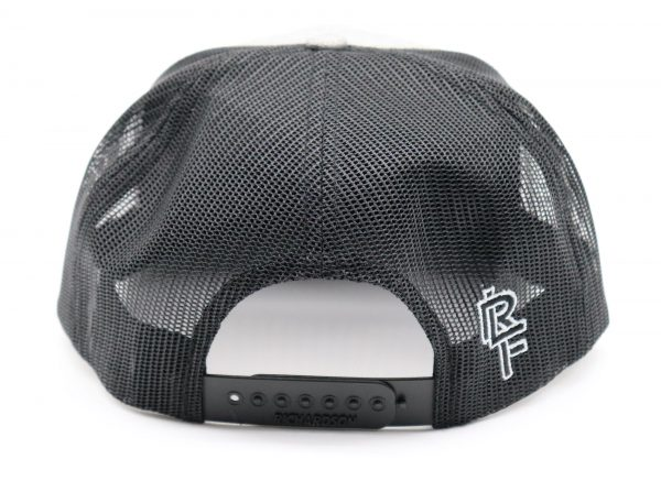 Ridgeline Snapback black back front grey backside