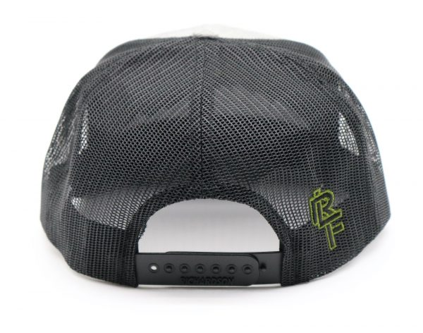 Ridgeline Snapback black back front grey green back