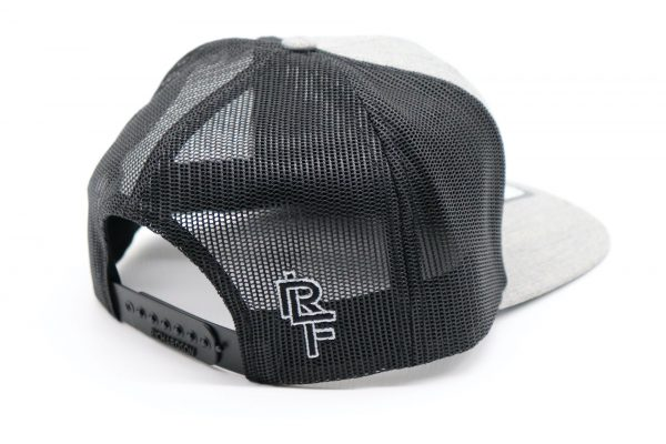 Ridgeline Snapback black back front grey side