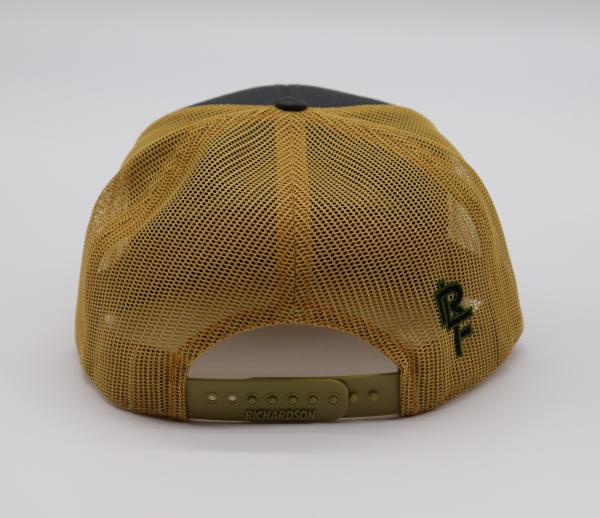 Ridgeline Snapback gold and gray back