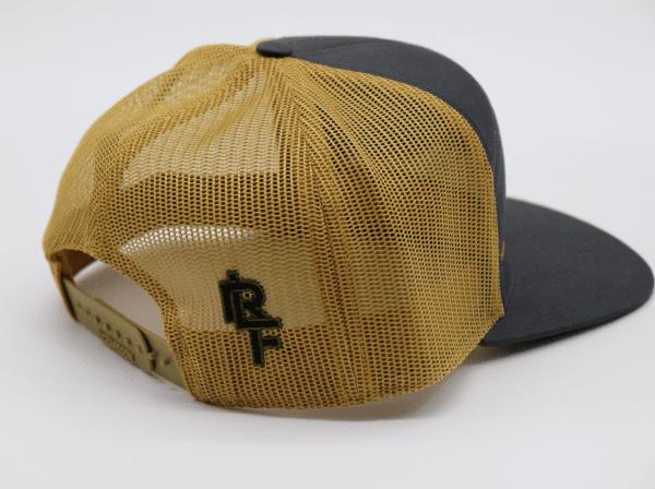Ridgeline Snapback gold and gray side