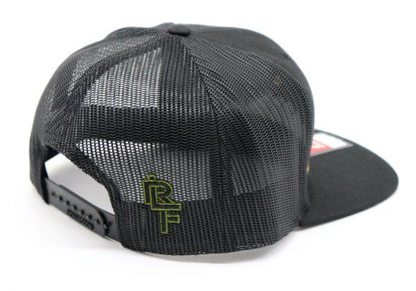 Ridgeline Snapback grey back front grey side