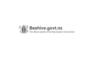 Beehive New Zealand